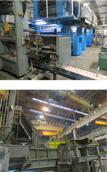 Imprimerie - sidérurgie